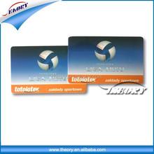 CR80 printed PVC american express black card