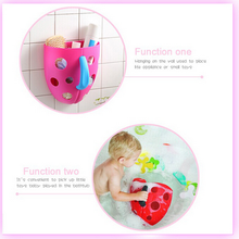 Bring happiness to bathing plastic toy storage