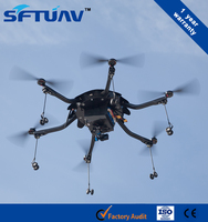 helicopter for crop dusting griculture sprayer uav drone