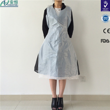 Customized pe material aprons pictures different size and colors weight for choose