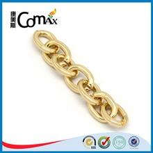 Fashion O Shape Shiny Gold Chains For Handbag Handle