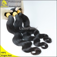 new fresh unprocessed cheap virgin hair can be dyed Brazilian hair extension 6a