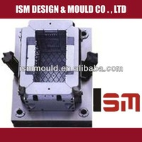 OEM custom steel mould for injection crate manufacturer