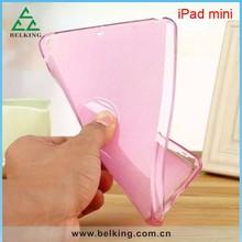 Waterproof Transparent Bling Powder TPU Case For iPad Mini High Quality TPU Case