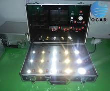 Dimmerable LED Test Box with E27,E14,MR16,GU10,T8 T5 Lamp-Socket, customed test case