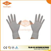 Skin color Latex gloves malaysia manufacturer