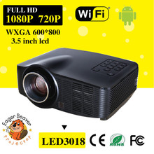 customize china wifi projector with led projector 1500 lumens trade assurance 800x600 mobile cinema projector