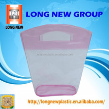 Transparent Custom Small outgoing packets wholesale pvc bags