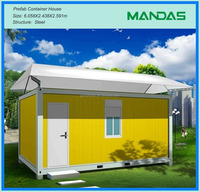 Modular Economic Flat pack house/ easy assemable shipping container homes/ shipping container prefabricated homes