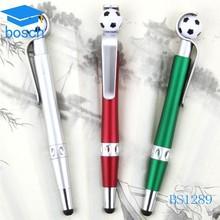 Custom retractable twist-action touch plastic pen