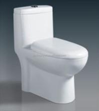 White Color Ceramic Siphonic One Piece Toilet Porcelain Toilet