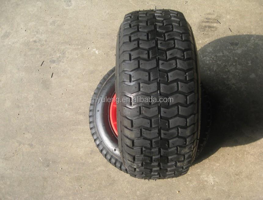 10 pouce 3.50-4 roue en caoutchouc