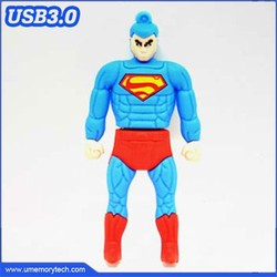 Superman usb pen drives 3.0 pen drive wholesale flash drive bulk 3.0 usb memory stick