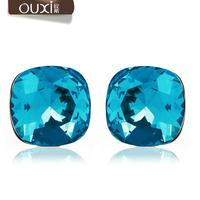 OUXI Factory price big earrings jewelry OUXI made with Swarovski Elements