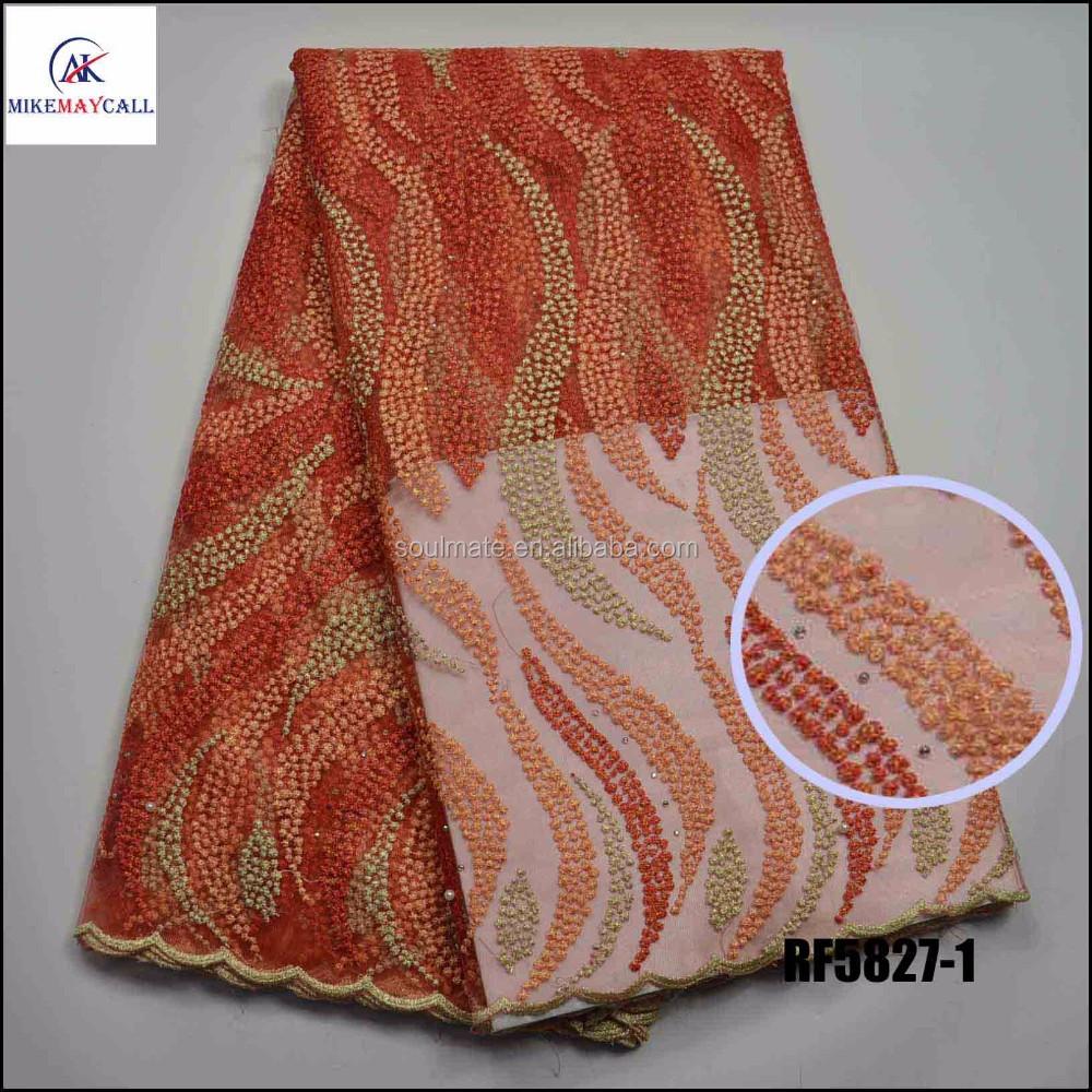 Платье из расшитых бисером тканей