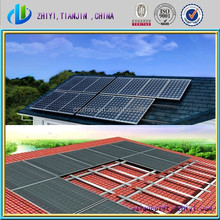 solar aluminum bracket cement block solar bracket solar panel roof mount support