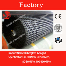 50-50 glassfiber geogrid with CE mark