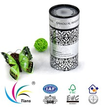 original factory price of Black and white packaging paper canister