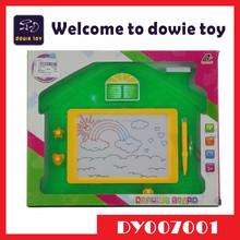 Children Educational Toys kids magnet education magnetic drawing board cartoon style house shape writing board for kids leanring