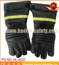 Bombero protectivefireman guante de la radiación térmica guantes de protección- haolin