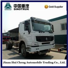 heavy duty white 380HP 6*4 howo tractor truck----road transportation