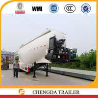 36 - 43cbm cement bulker tank semi trailer with cheap price