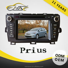 car double din gps navigation for toyota prius dvd player bulit in radio