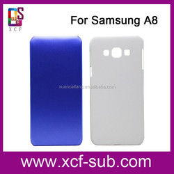 A3, A5, A7, A8 Wholesale sublimation phone cases blanks hard plastic For Samsung A series