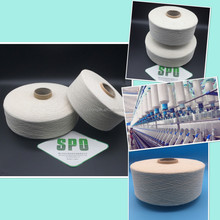 China pure mulberry silk yarn, spun silk noil yarn with bag packaging from TongXiang