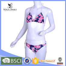 Top Quality Colorful Polyester Sexy Bikini Beachwear