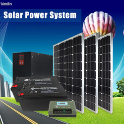 High Quality 100w off gird pv solar system for home used with low price