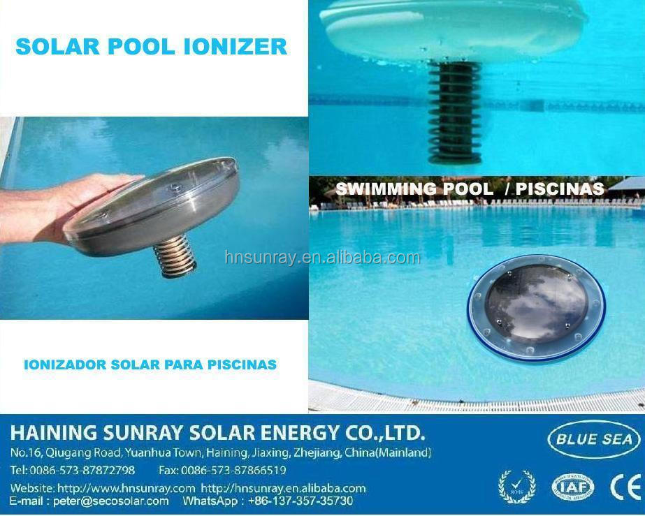 Solar swimming pool ionizer buy solar pool ionizer solar - Swimming pool ionizer ...