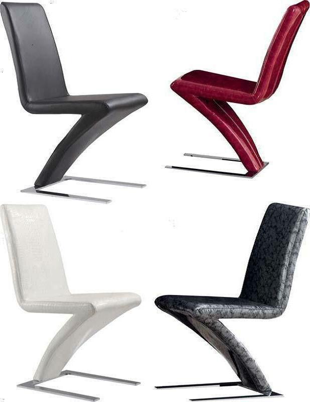 Foshan china de muebles de comedor moderno de metal y cuero de dise o de la curva silla de - Muebles de comedor de diseno moderno ...