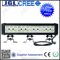 Waterproof auto parts high bright 4000 lm hight power 75W spot/flood/combo beam led work light bar