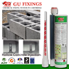Hohlziegel building anchor grout for chemical mortar fixing