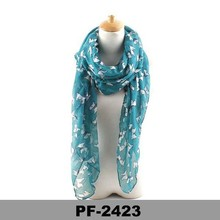 New styles fashion asian scarf voile scarf New design ladies scarf Fashion accessories