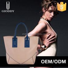 2015 best China handbag supplier genuine leather handbag chinese laundry handbags