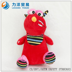 plush cute toys for kids-red, Customised toys,CE/ASTM safety stardard