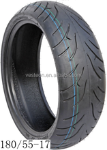 Hot sale motorcycle tubeless tire 180/55-17