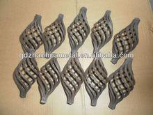 Ferro forjado decorativo cesta para esgrima