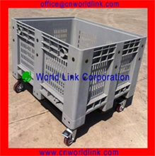 1000kg Heavy Duty Bulk Plastic Container With Wheels