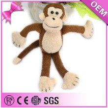 New Design Custom Plush Lovely Animal Monkey Stuffed Plush Toy