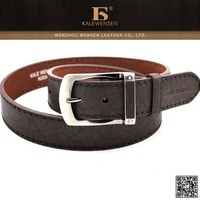 Unique new arrived fashion top customize leather western belt for men