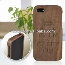 FL2186 2013 Guangzhou hot selling walnut bamboo wood case for iphone 5 5G