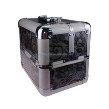 China large aluminum metal makeup case XB-CS702