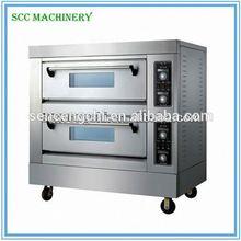 SCC vendita calda buona qualità del gas pane pizza forno a piani