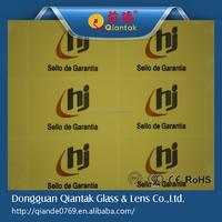Custom Printable transparent adhesive label/ sticker/ ticket