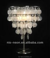 seashell christmas decorations lighting mini fancy led table lamp factory lamp NS-121144