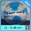 Cremallera alemán de bolas! Andador inflable del agua bola/funny bola del agua caminando/rodar la bola del agua