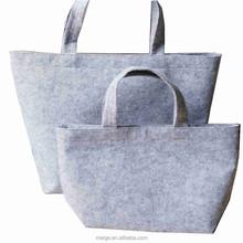 Hot sell felt bag with inside pocket/ magnet closure wool felt bag, felt laptop bag